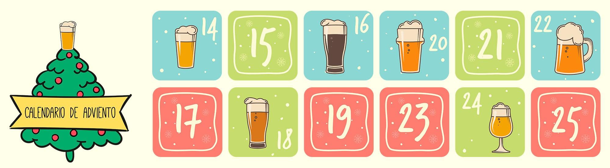 Descubre nuestro calendario de Adviento para cerveceros